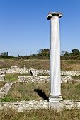 Temple of Dionysus ruins found at Dion in Greece