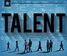 stock photo of experiments  - Talent Skill Experience Expertise Professional Concept - JPG