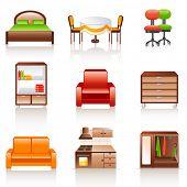 Möbel-Symbole