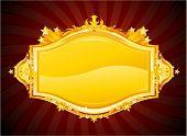 Gold casino banner