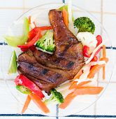 Jerk Chicken With Vegetables