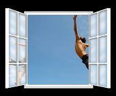 Freedom Through The Window,