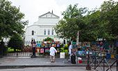 Art And Paintings Displayed In Jackson Square
