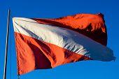 Tauchgang Flagge