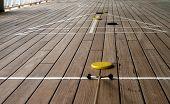 Shuffleboard Playing On A Cruise Ship 2