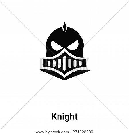 Knight Icon In Trendy Design