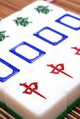 Mahjong, zeer populair spel in China