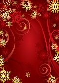 Christmas Snowflakes (vector). In the gallery also available XXL jpeg image made from this vector