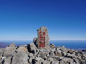 The Highest The Highest Point Of Seoraksan Mauntains. The Peak Daecheongbong. South Korea.point Of S poster