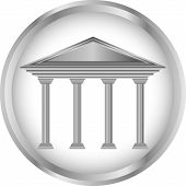 Bank icon or button