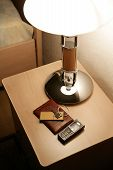 Bedside-Table In Hotel