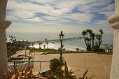 View Of San Clemente Pier From Casa Romantica