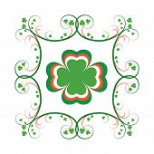 Irish Shamrock - Fancy Frame