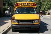 Small Yellow School Van & Small Bus