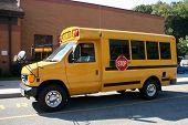 Small Yellow School Van, Bus