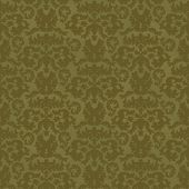 floral green seamless old texture