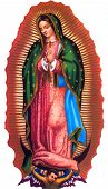 Lady Of Guadalupe Mexico Saint Holy Faith Illustration poster