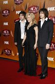 LOS ANGELES - DEC 5:  Neil Perry; Kimberly Perry; Reid Perry of The Band Perry  arrives at the American Country Awards 2011 at MGM Grand Garden Arena on December 5, 2011 in Las Vegas, NV