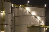 Petrochemical-storage tanks