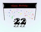 22Th Birthday Party.