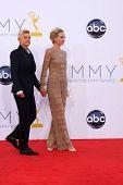 LOS ANGELES - SEP 23:  Ellen DeGeneres, Portia DeRossi arrives at the 2012 Emmy Awards at Nokia Theater on September 23, 2012 in Los Angeles, CA