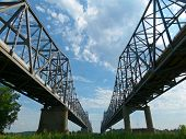 Henderson Kentucky Twin Bridges
