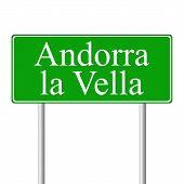 Muestra de camino verde de Andorra la Vella