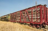 Old Railroad Stock Car