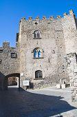 Porta Romana. Viterbo. Lazio. Italy.