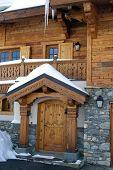 Chalet Entrance