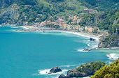 Colorful view at Monterosso Al Mare, Cinque Terre, Italy
