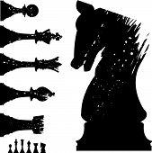 Grunge-ajedrez