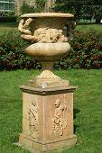 sculptured urn