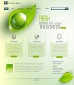 Vector green website
