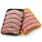 Raw Polish And Cheese Sausages