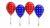 USA Balloons, 4th july