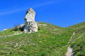 Cretaceous outcrops nature reserve