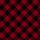 Rot und schwarz karierten Stoff Hintergrund