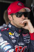 Fort Worth, TX - Jun 07, 2013:  Marco Andretti (25) takes to the track for a practice session for th