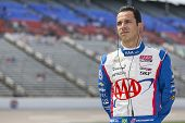 Fort Worth, TX - Jun 07, 2013:  Helio Castroneves (3) takes to the track for a practice session for