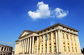 Palace of Gran Guardia on Piazza Bra, Verona, Veneto, Italy, Europe