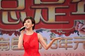 The Famous Singer Guo Tao Singing Songs On Stage, China
