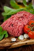 stock photo of hamburger-steak  - Cooking ingredients - JPG