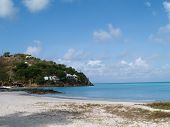 Hotel And Cottages Near Jolly Beach On Antigua Barbuda