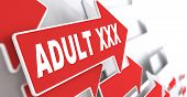 stock photo of perversion  - Adult XXX Concept - JPG
