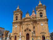 Xaghra Church in Gozo