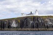 Lighthouse On Farne Islands