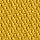 Yellow Reptile Skin