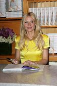 Gwyneth Paltrow at a signing for her new cookbook