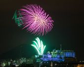 Edinburgh Fireworks Scotland Uk